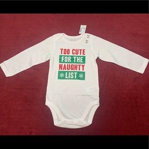 🆕 Gender Neutral Christmas Bodysuit